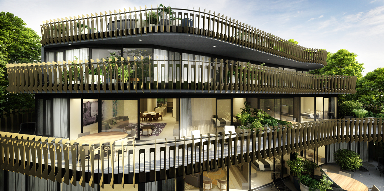 Yarra Terrace Rothelowman Architecture project