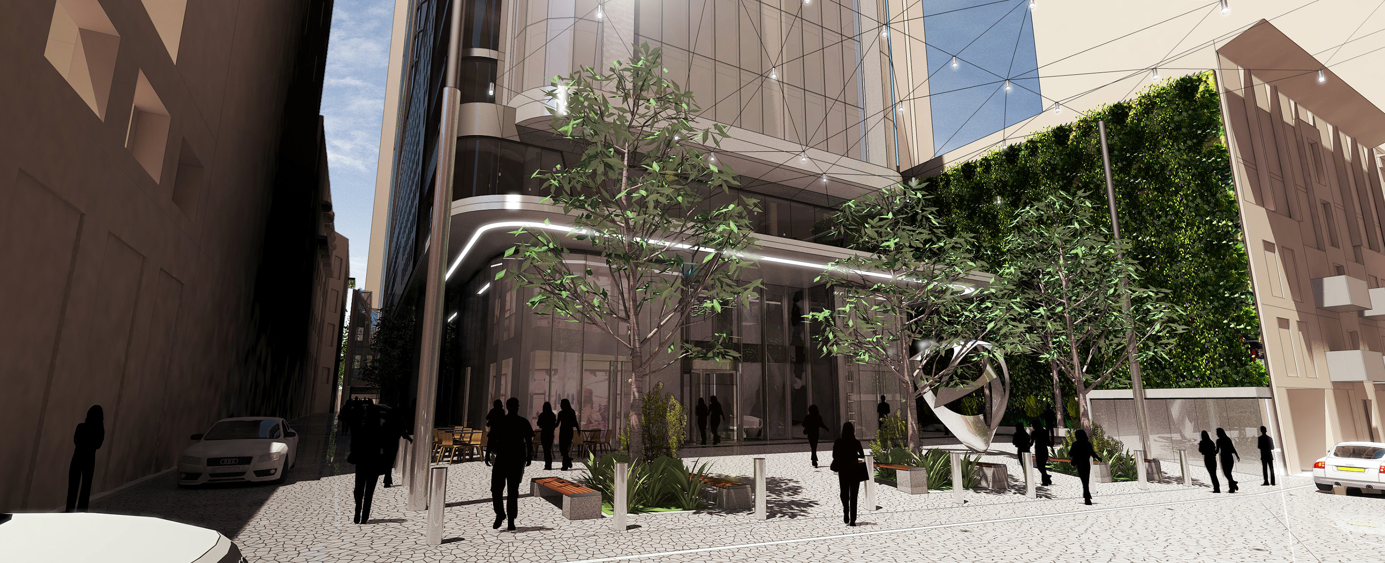640 Bourke Rothelowman Architecture project