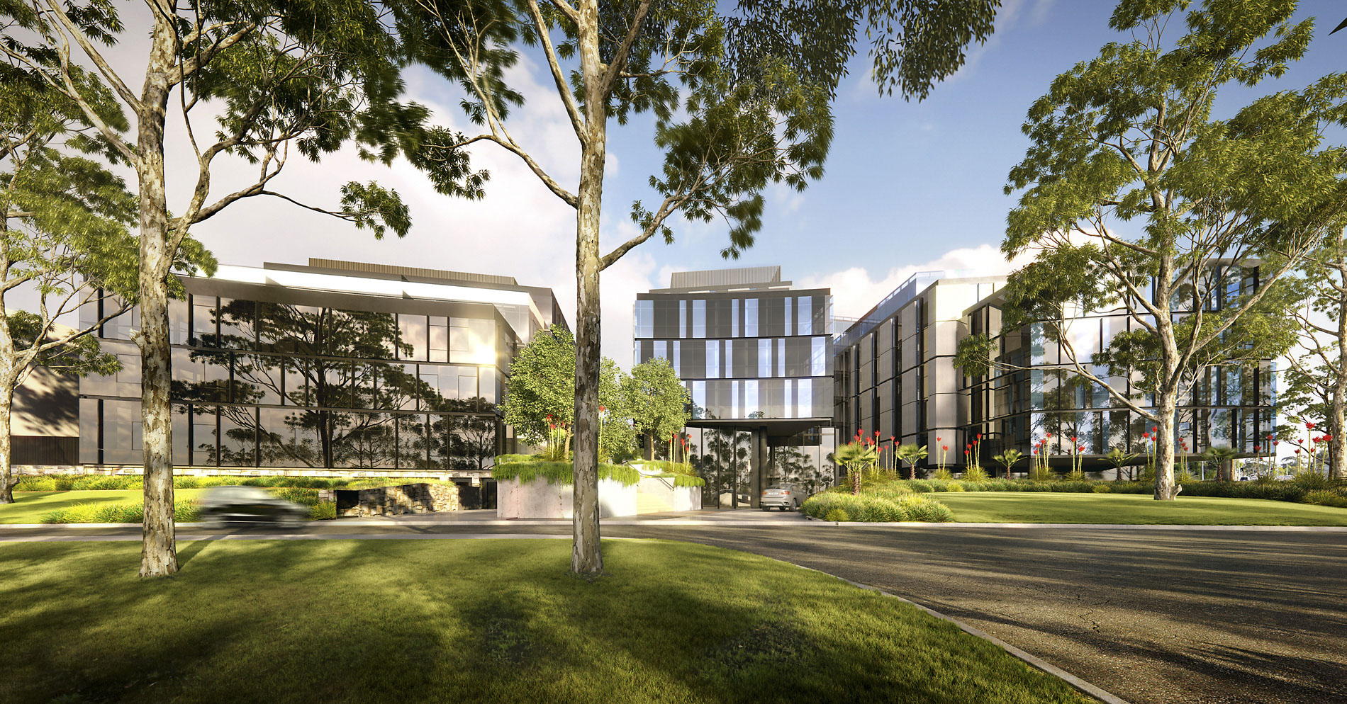 East Edge Botanicca Rothelowman Architecture project