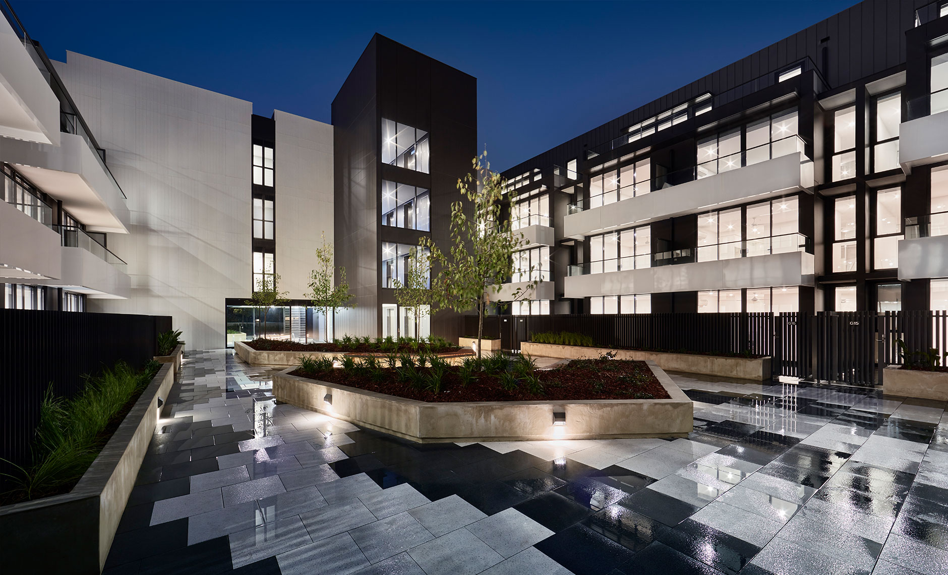 Rothelowman Architecture Footscray VIC Botanica Apartments