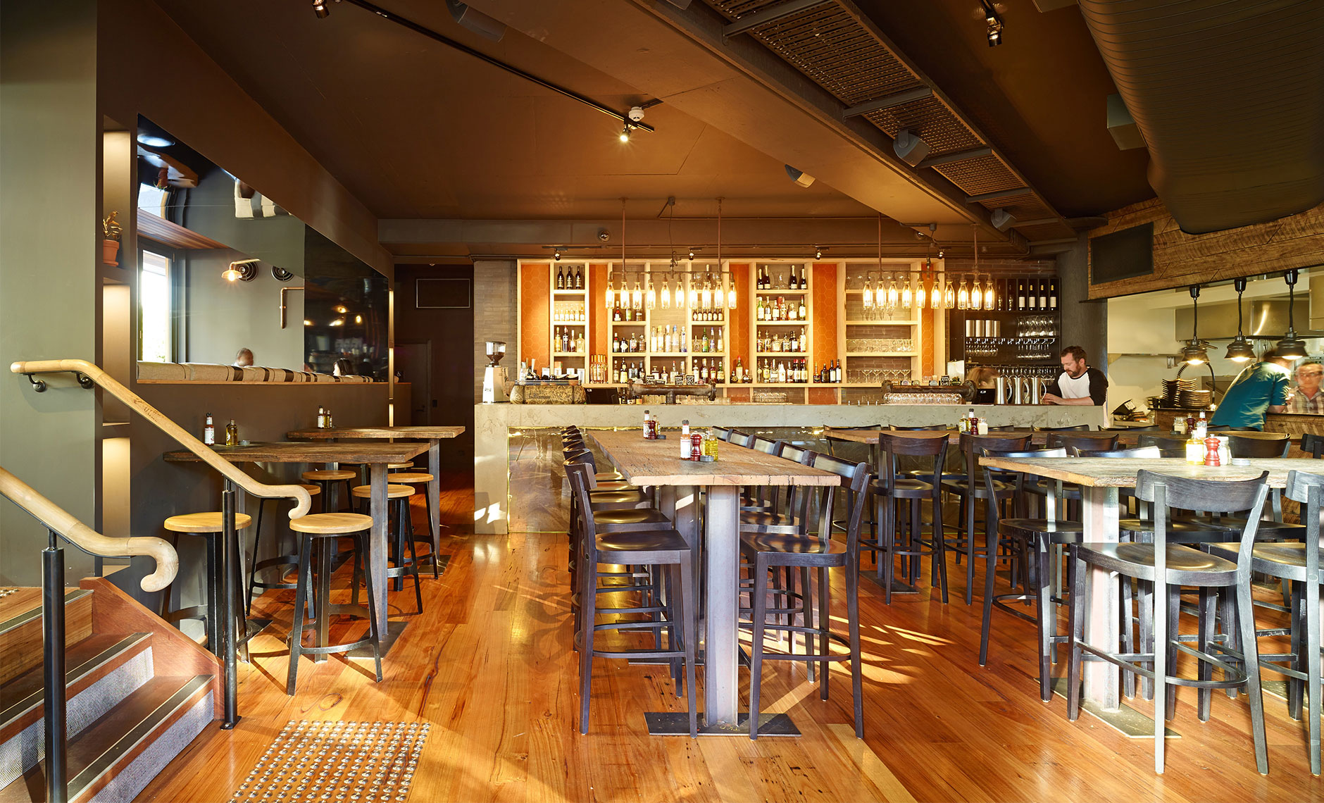 Rothelowman Hotels & Hospitality South Brisbane, QLD Habitat Restaurant and Bar