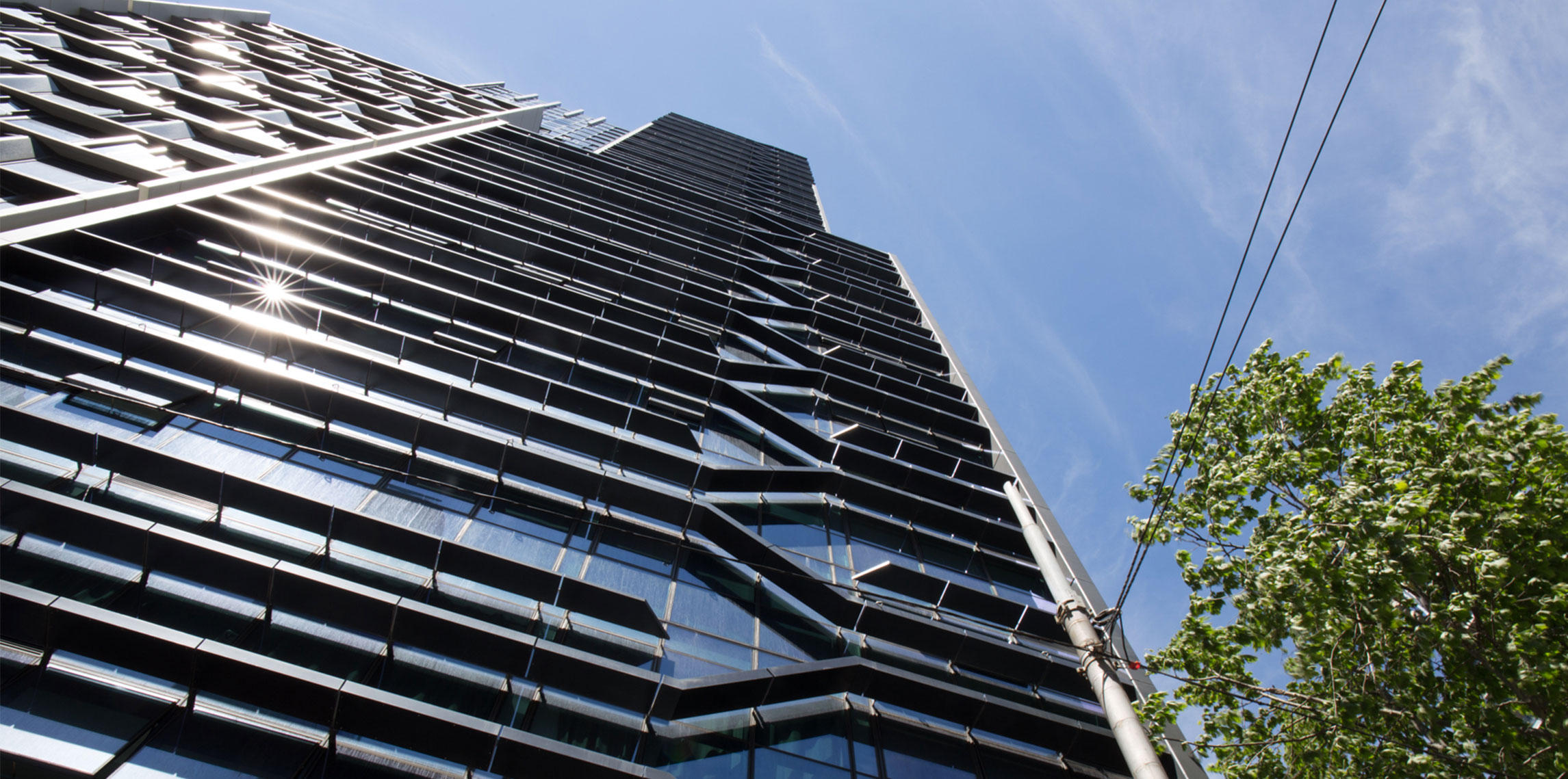 La Trobe Tower Rothelowman Architecture project
