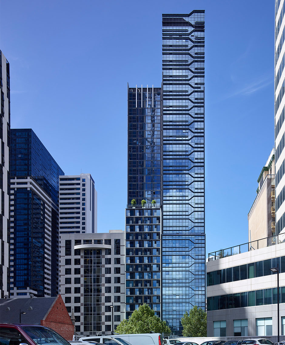 Rothelowman Architecture Melbourne, VIC La Trobe Tower