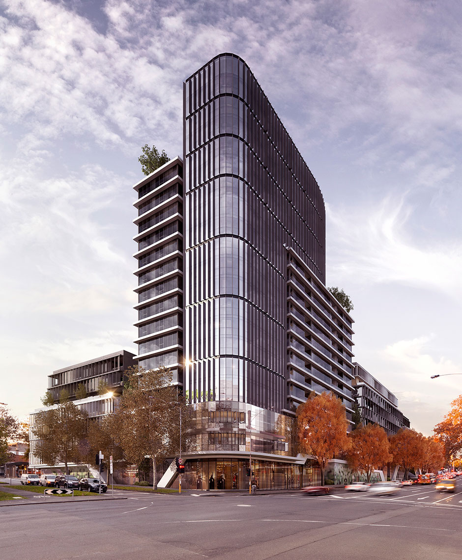Mixed Use project in West Melbourne