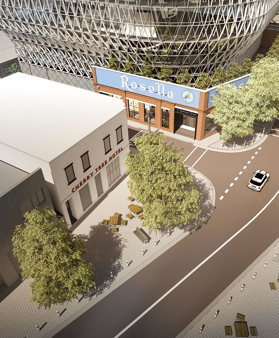 Commercial project in Cremorne, VIC