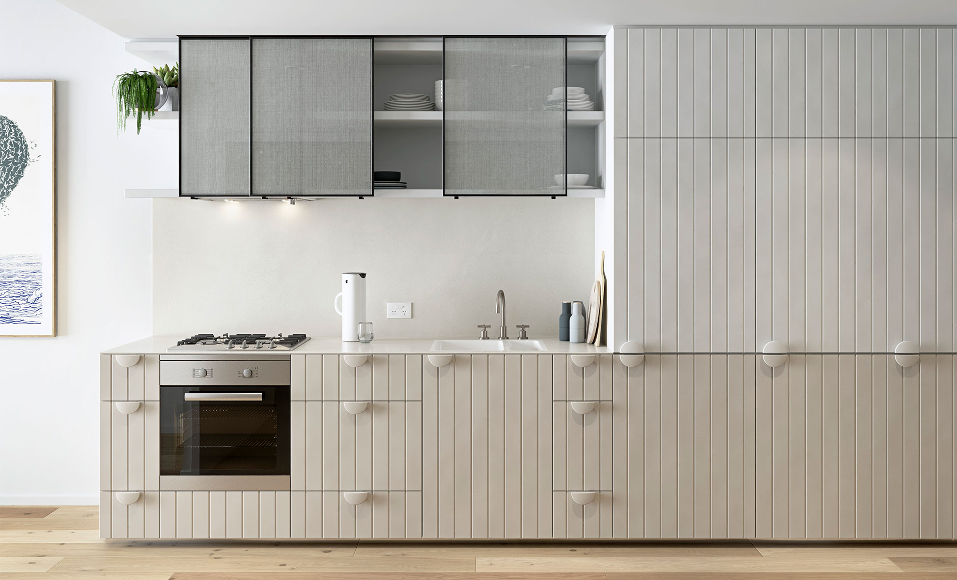 Interiors project in Brunswick East VIC