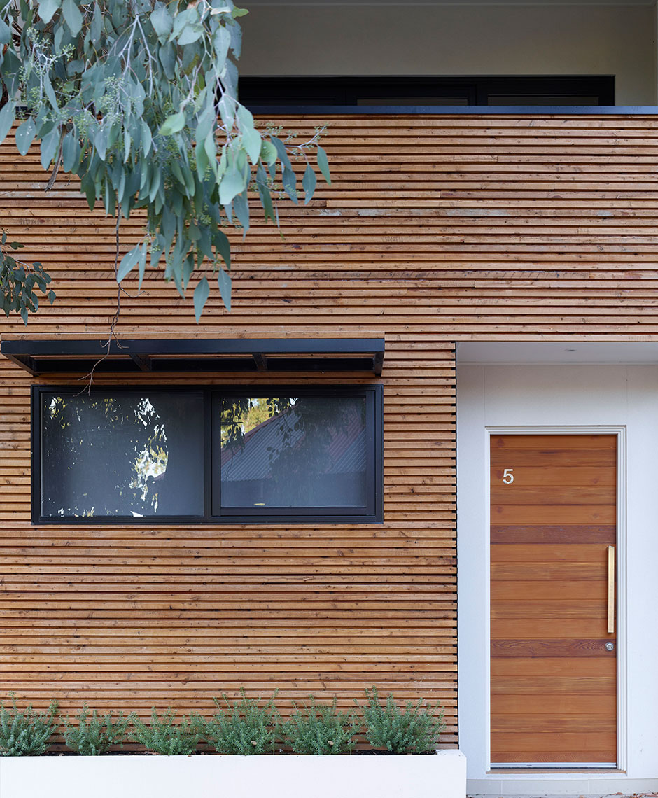 Townhouses project in Brunswick, VIC