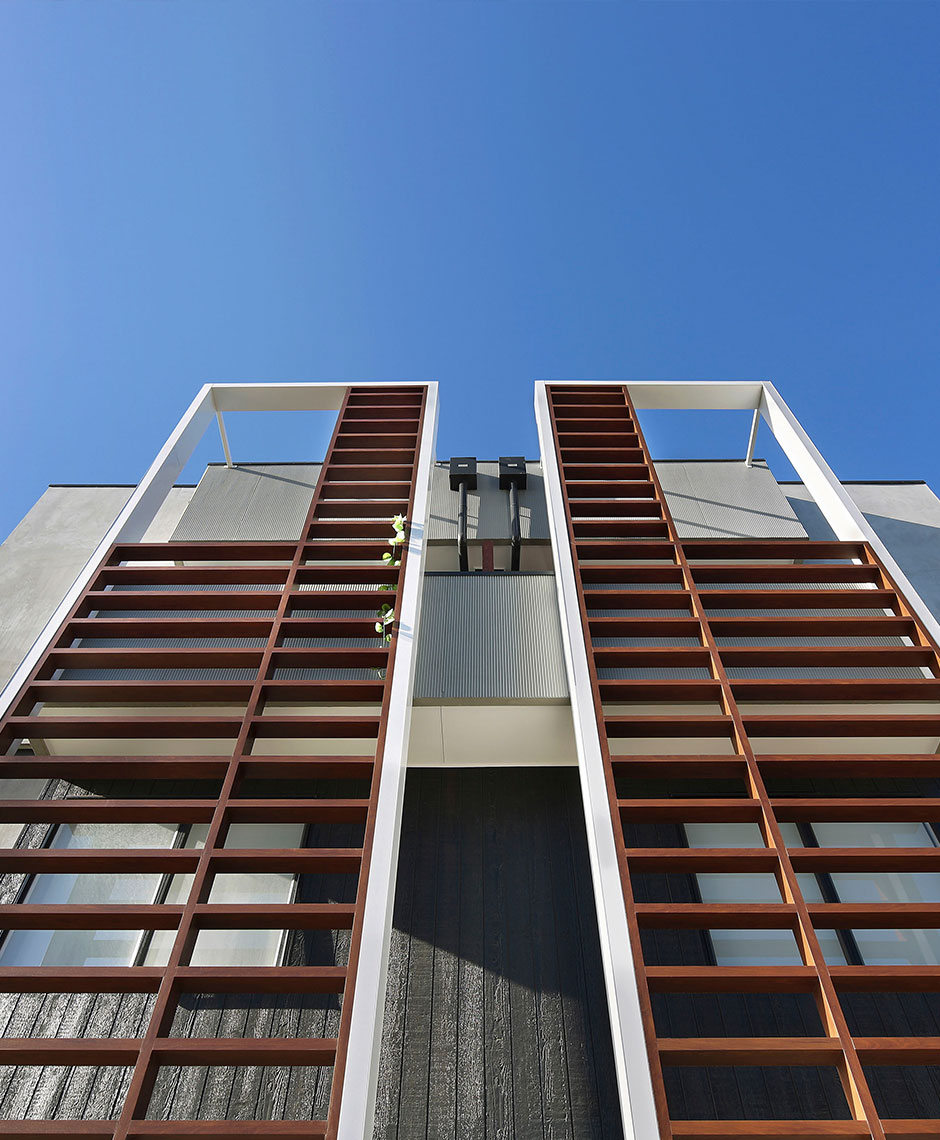 Townhouses project in Northcote, VIC
