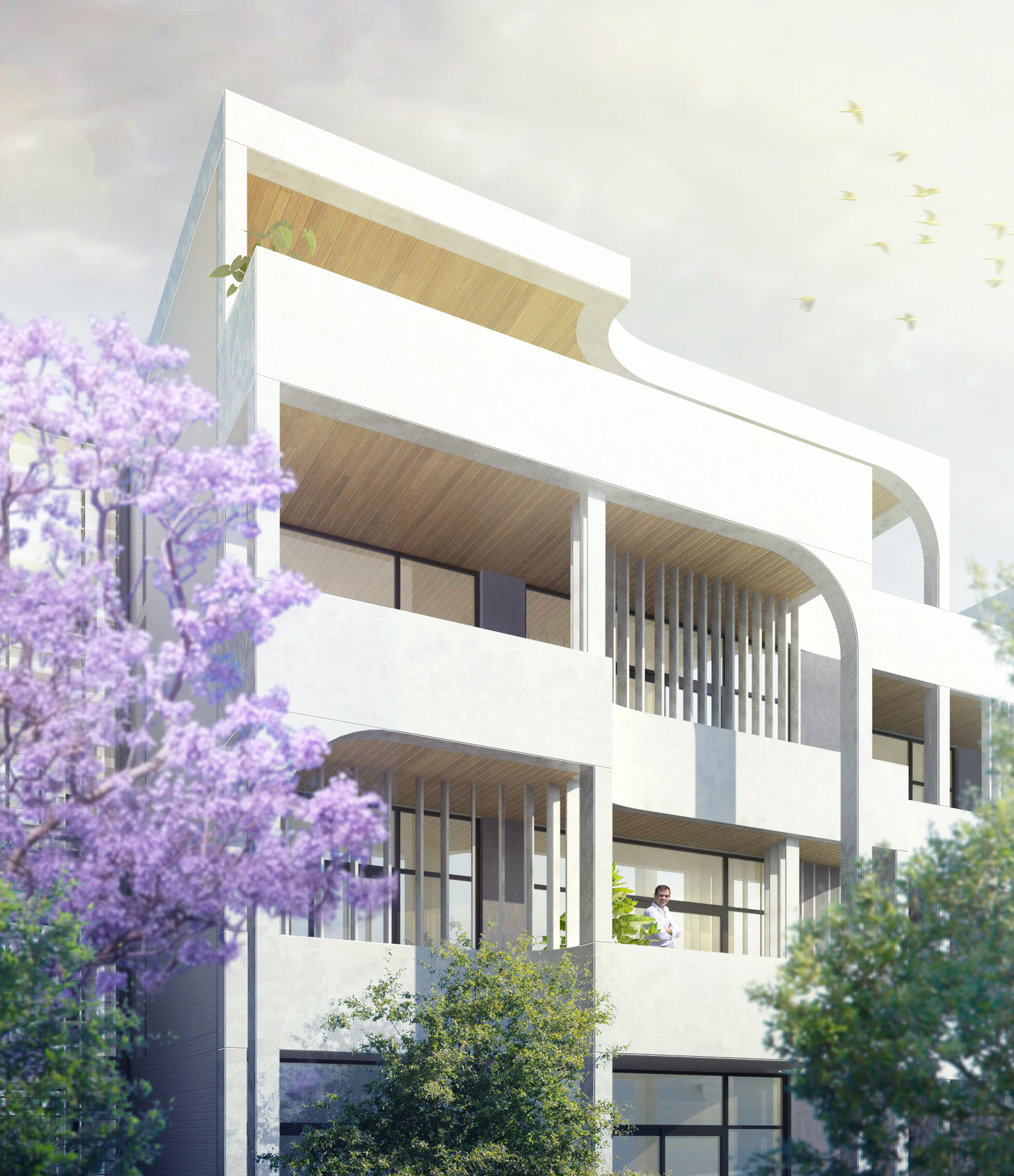 Rothelowman Architecture Chatswood, NSW Archer Terraces