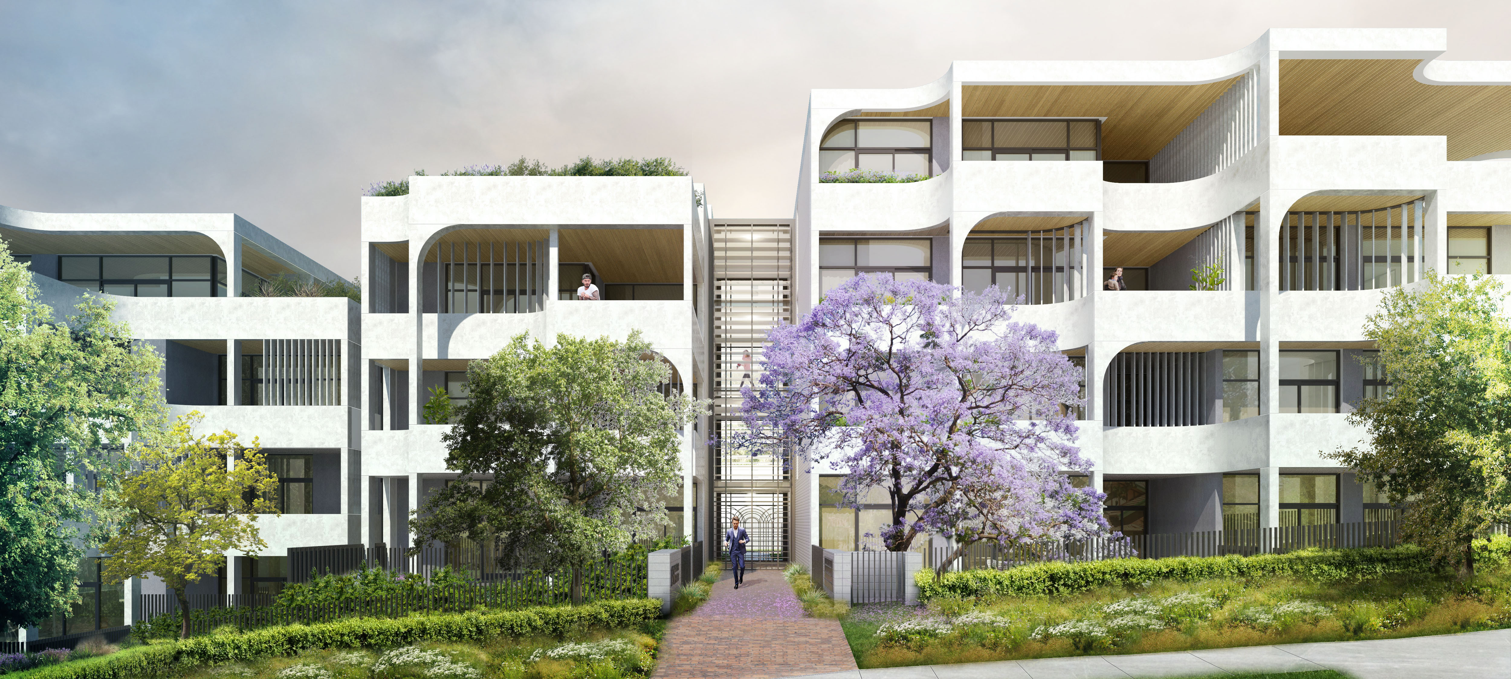 Image for Rothelowman project Archer Terraces