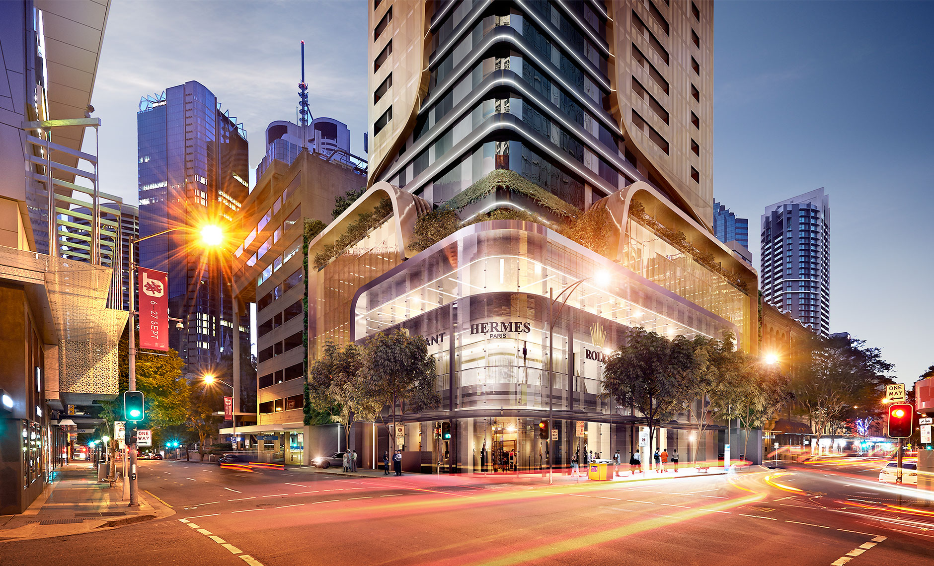 Mixed Use project in Brisbane, QLD