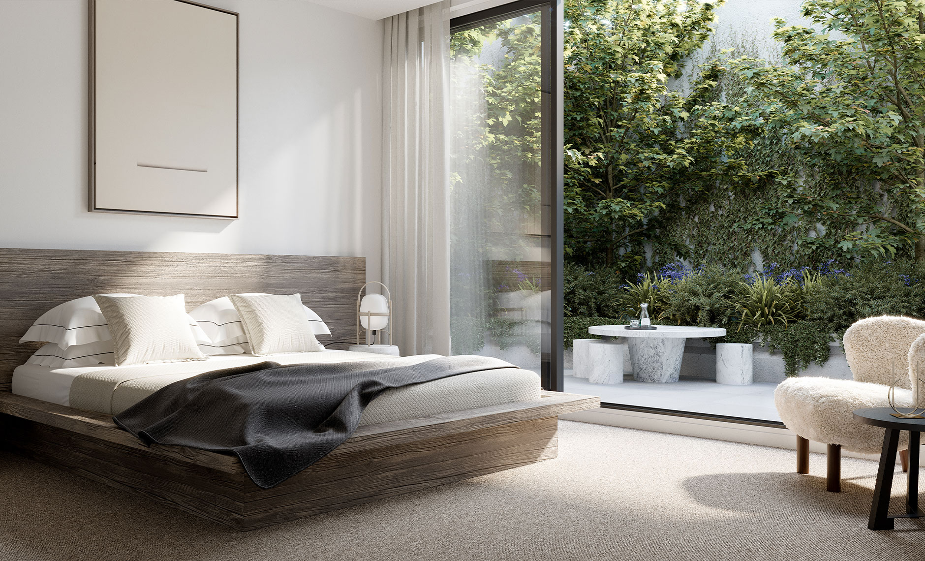 Interiors project in Rouse Hill, NSW