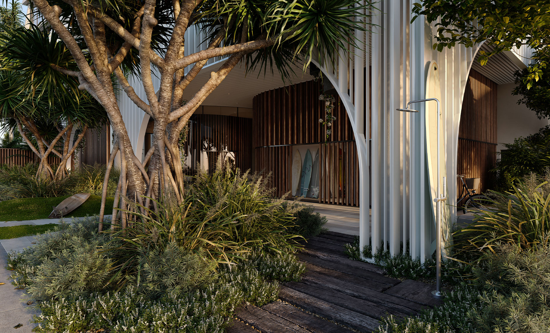 Rothelowman Architecture Mermaid Beach, QLD Bela