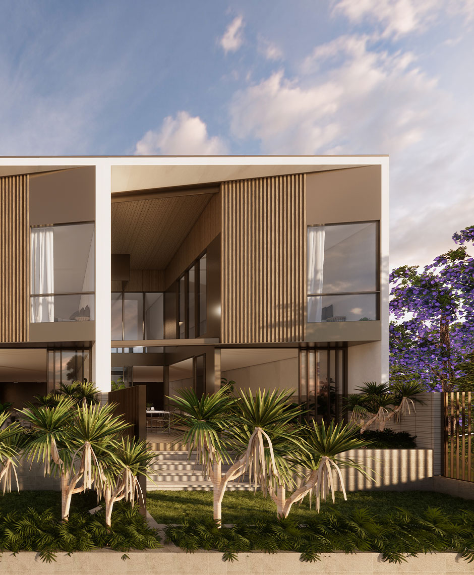 Rothelowman Architecture Redcliffe Peninsula, QLD Newport Terrace Homes