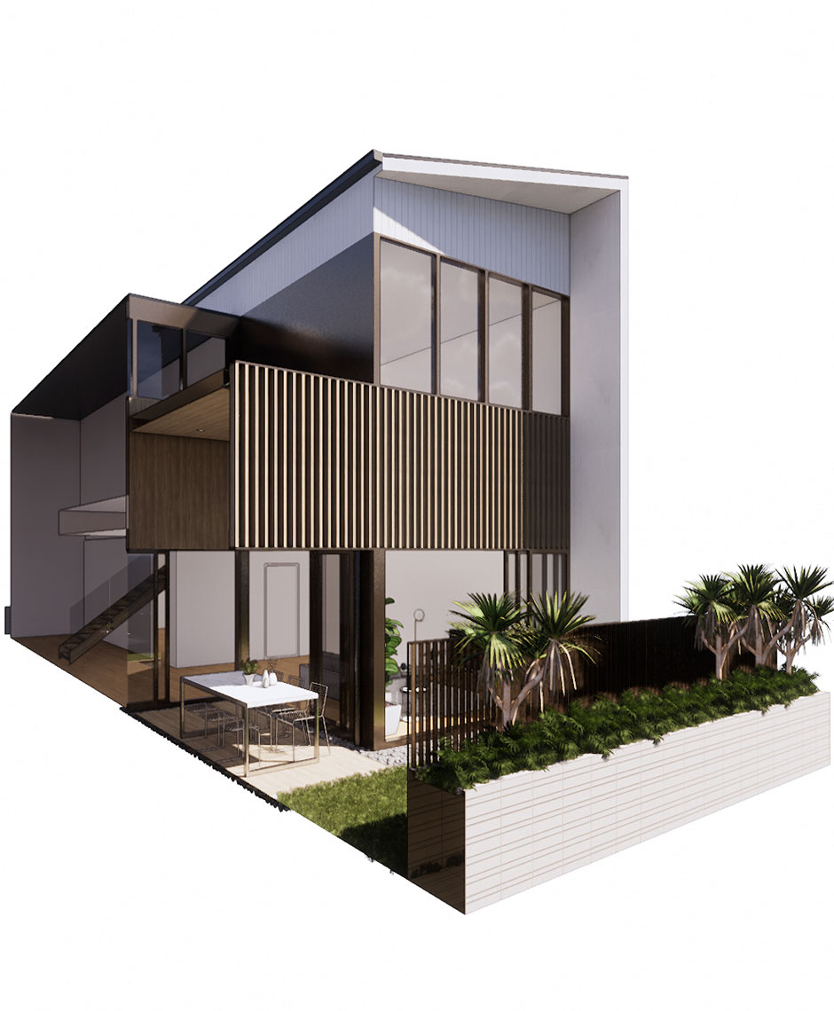 Interiors project in Redcliffe Peninsula, QLD