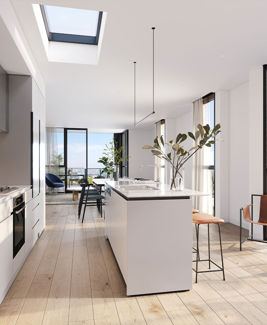 Interiors project in North Sydney NSW