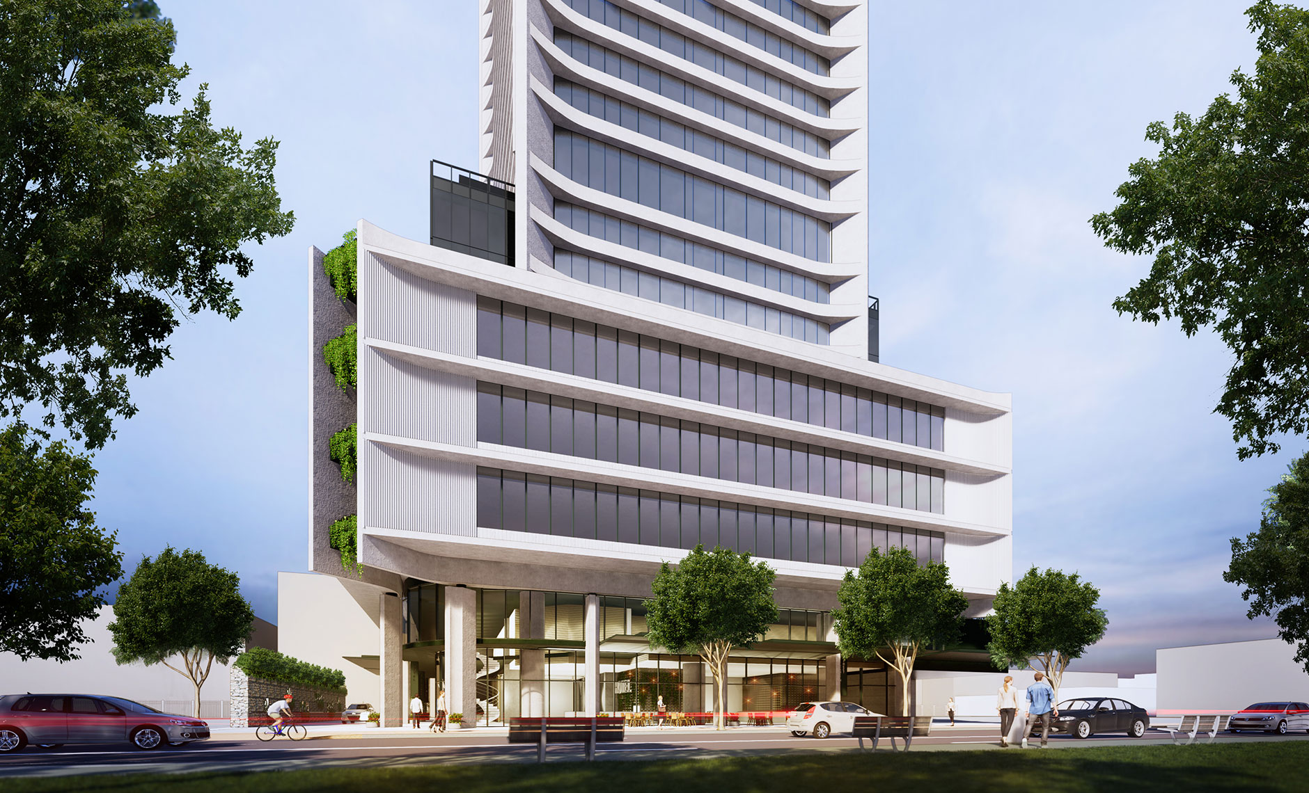 Commercial project in Liverpool, NSW