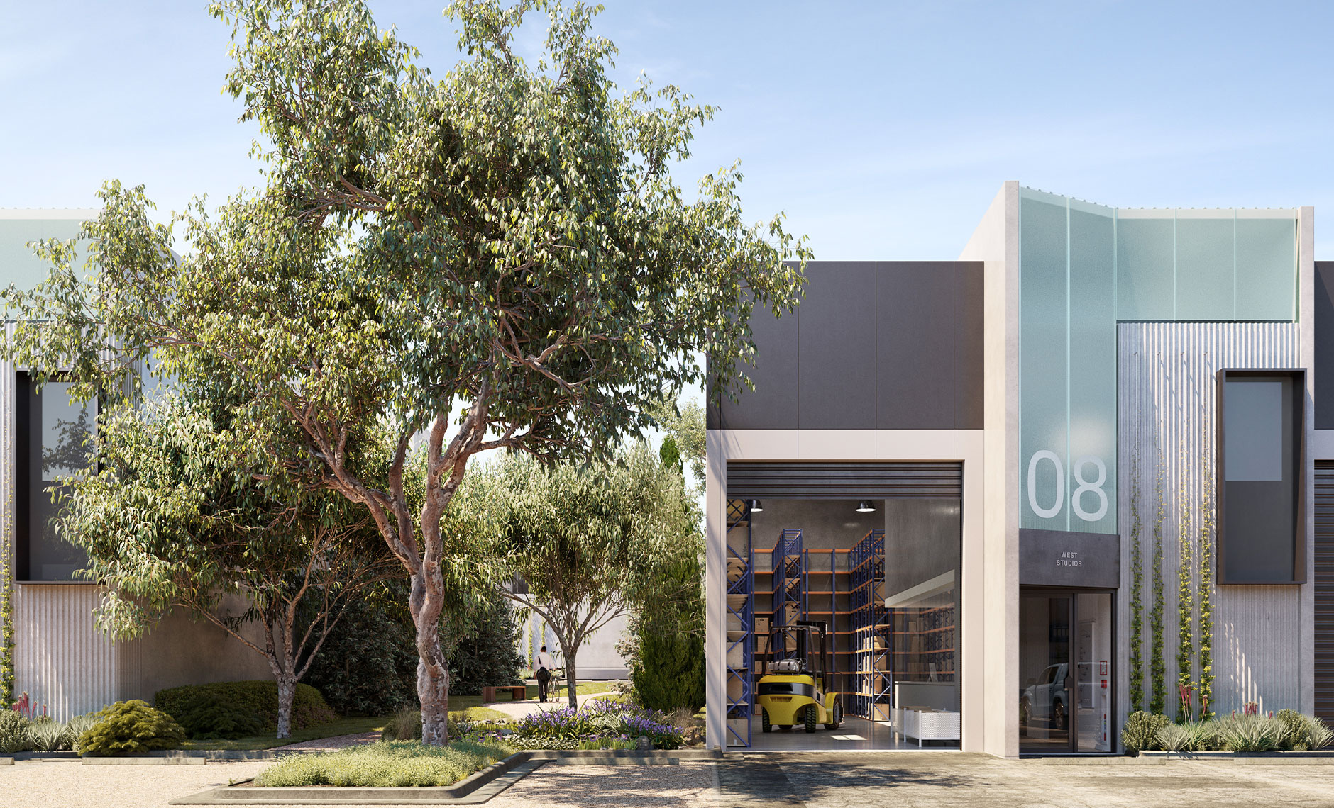 Commercial project in Footscray, VIC