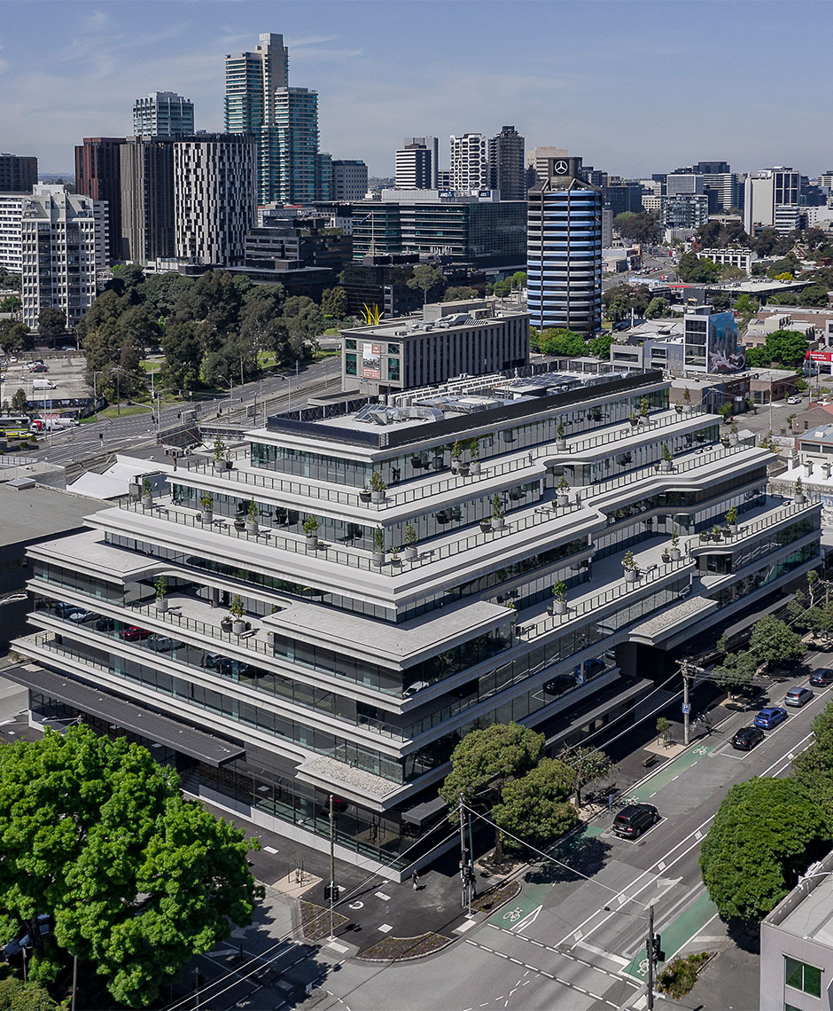 Commercial project in South Melbourne, VIC