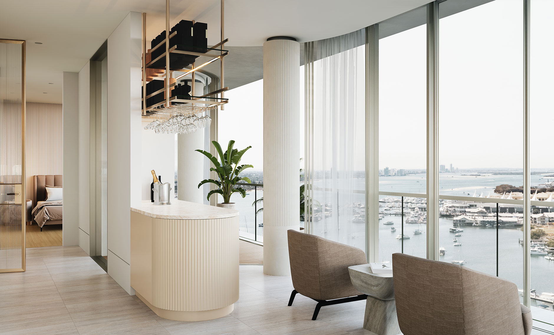Rothelowman Architecture Main Beach, Gold Coast QLD The Monaco