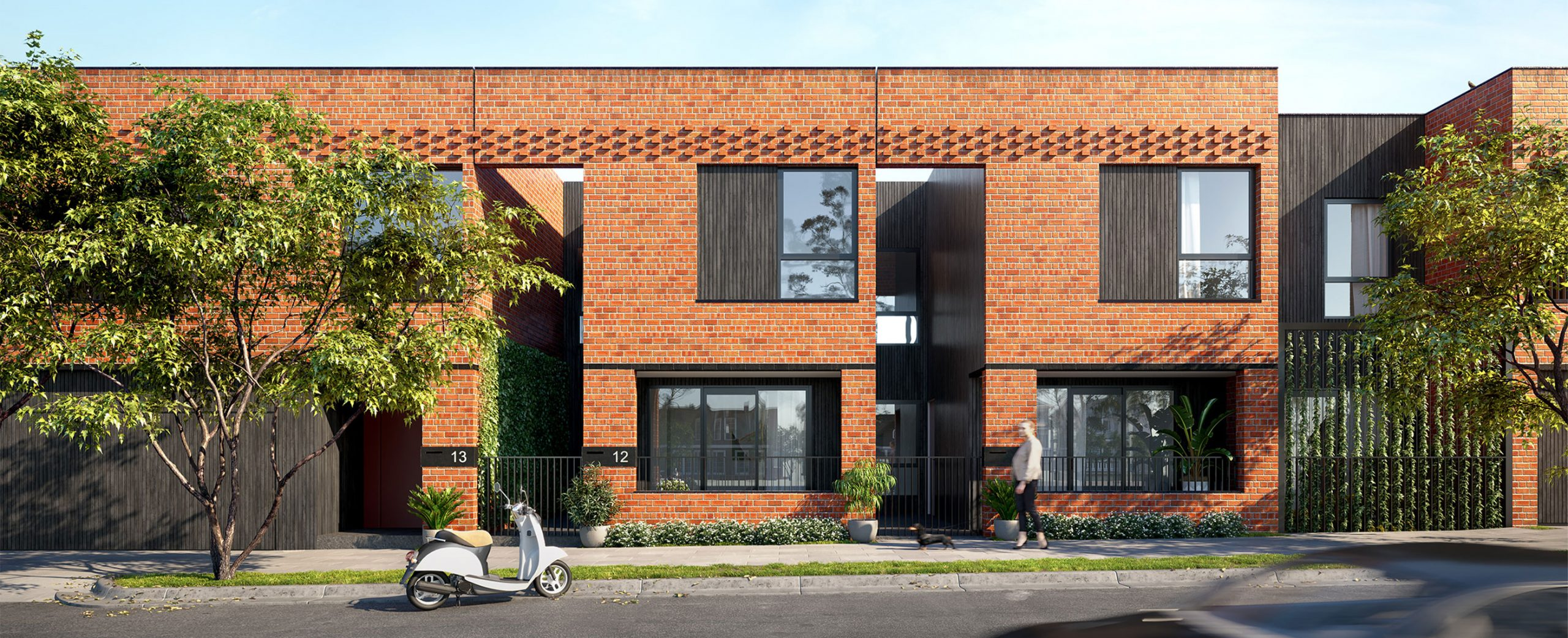 Yarraville Place Rothelowman Architecture project