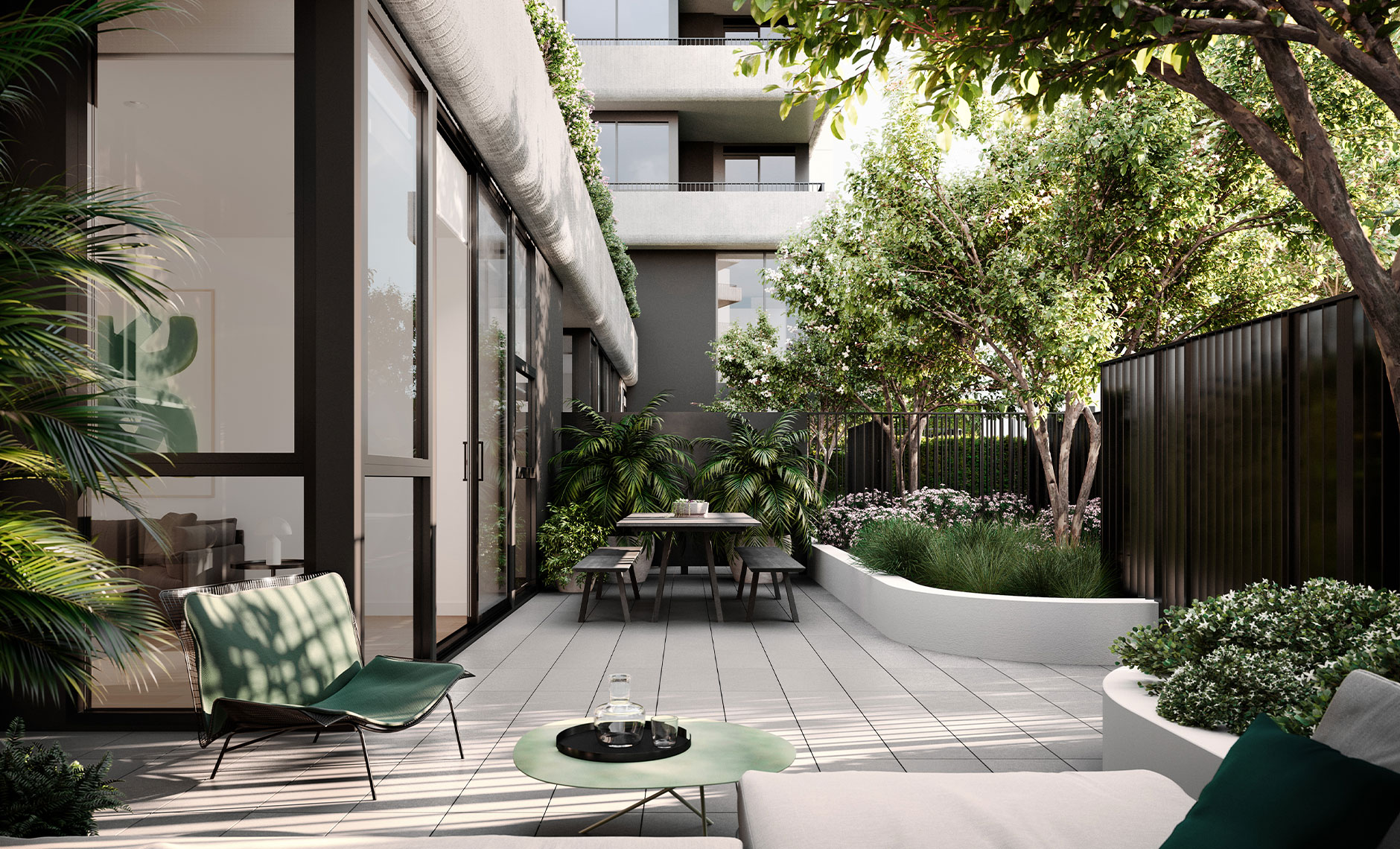 Interiors project in Burwood VIC