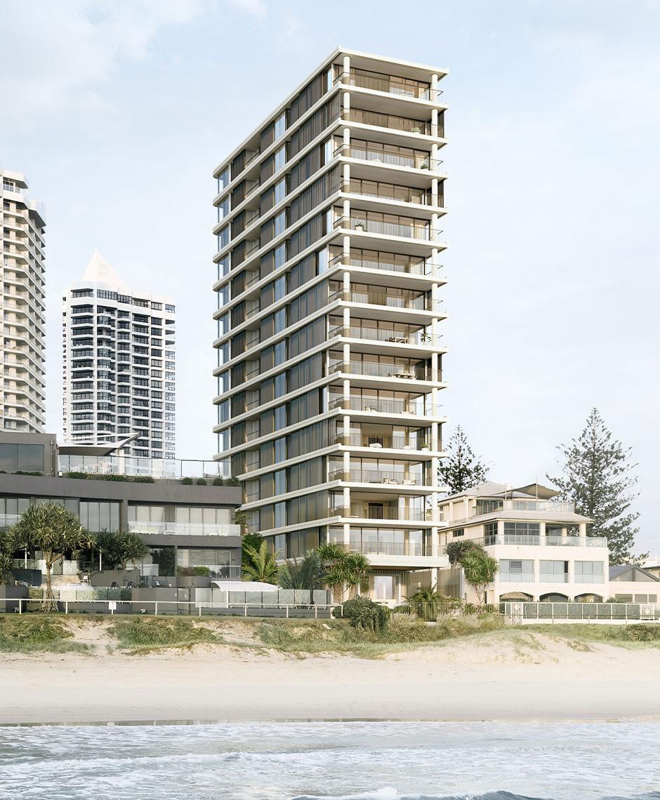 Rothelowman Architecture Main Beach, Gold Coast QLD Dune