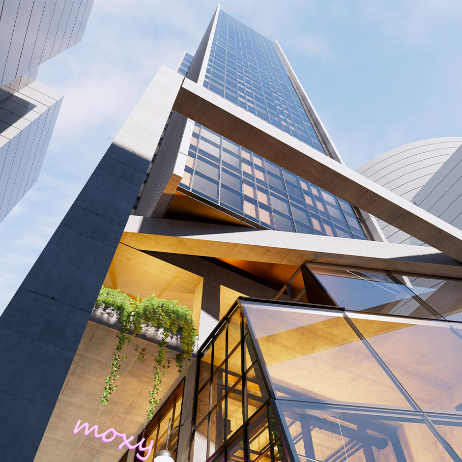Image for Rothelowman project Moxy South Yarra