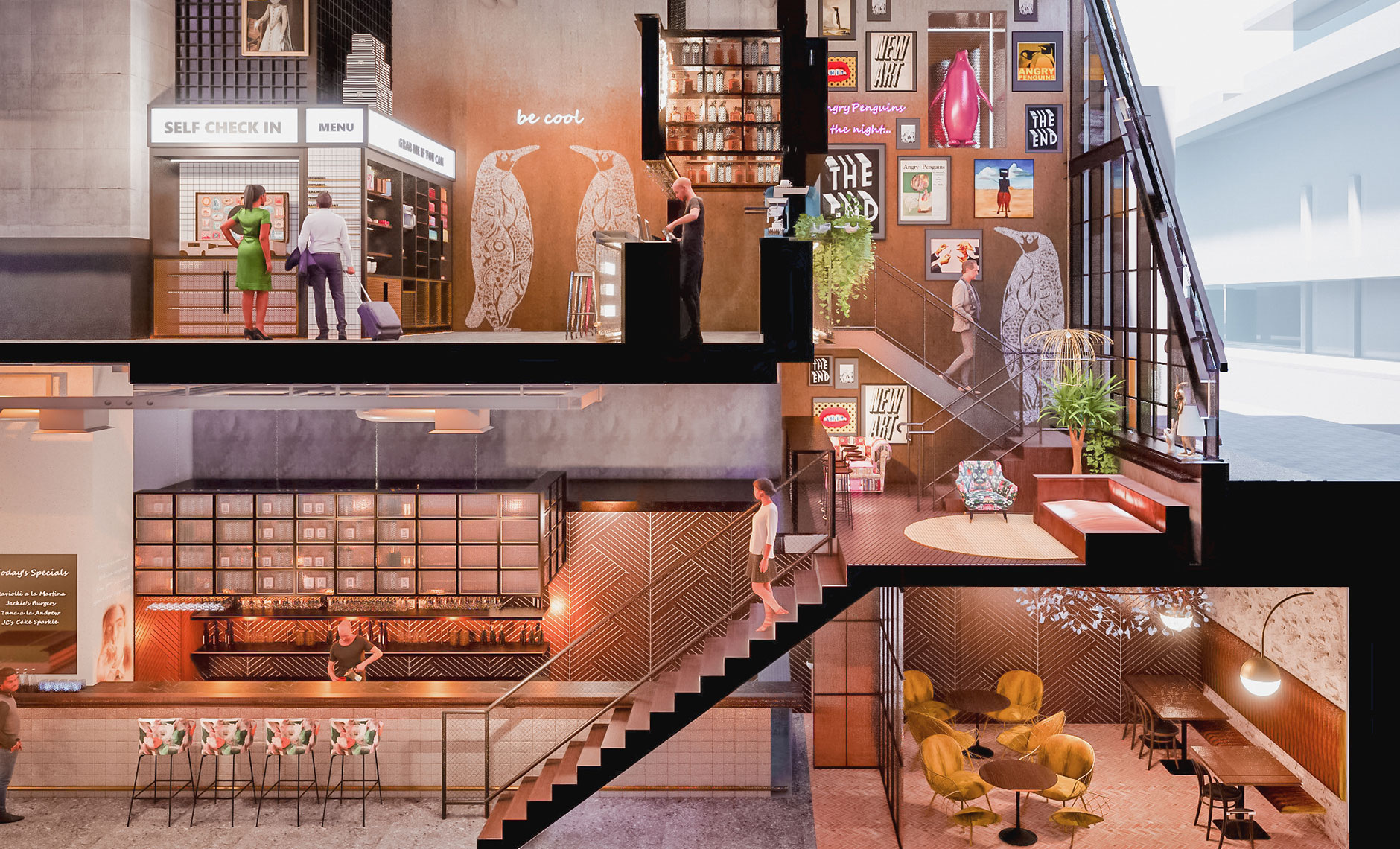 Rothelowman Architecture South Yarra VIC Moxy South Yarra