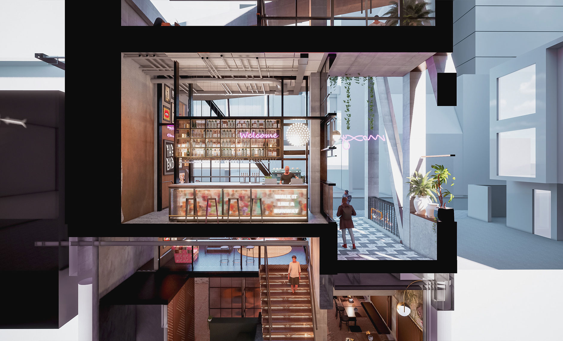 Hotels & Hospitality project in South Yarra VIC