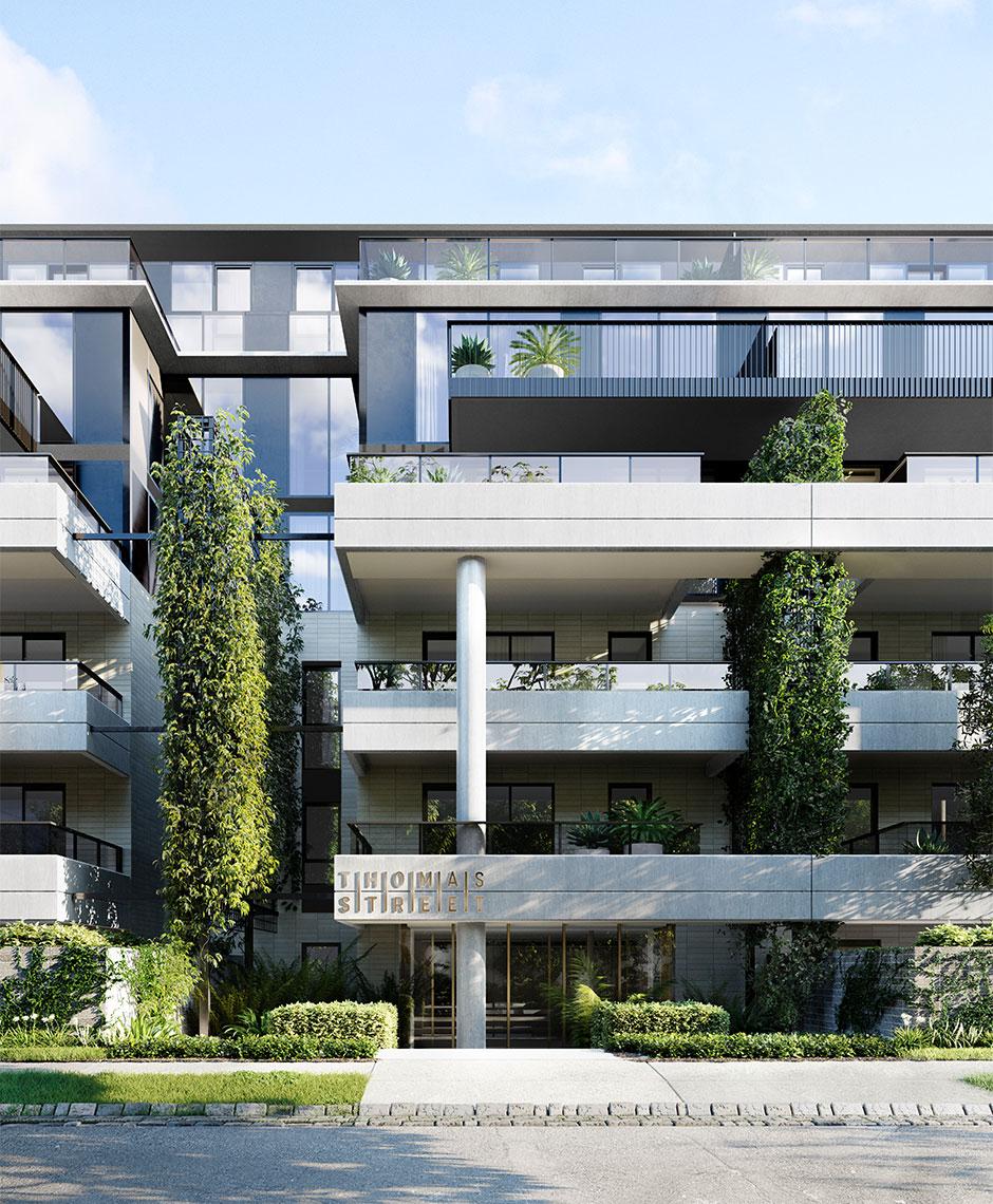 Rothelowman Architecture Moonee Ponds VIC Thomas Street