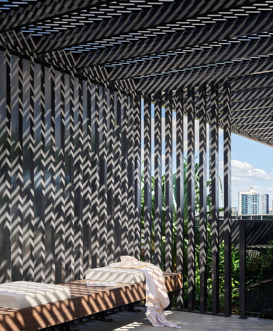 Interiors project in New Farm, QLD